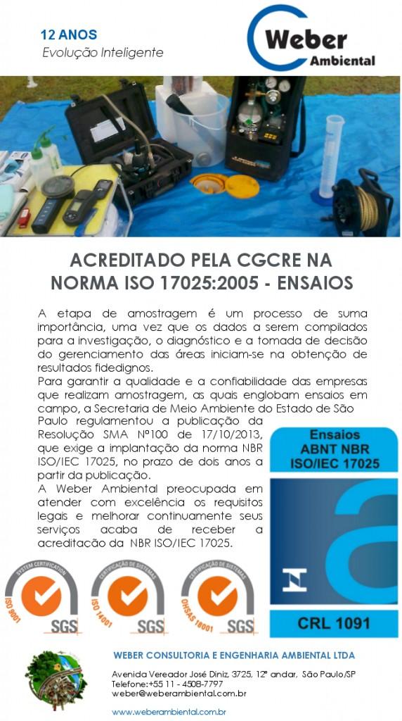 ACREDITAÇÃO 17025